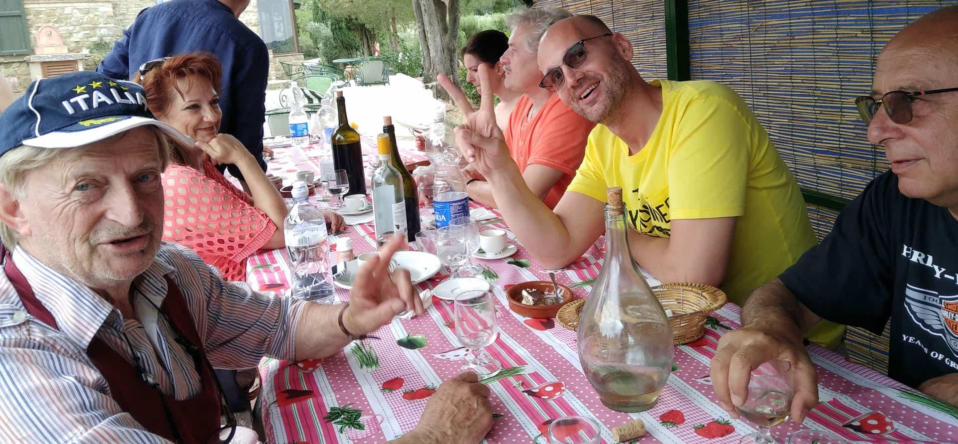 agriturismo con ristorante in toscana